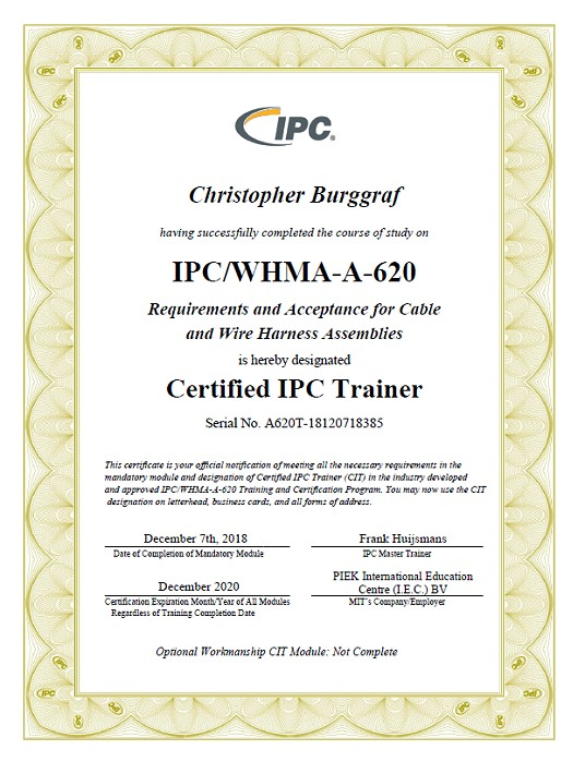 ISO9001-Zertifikat für das Unternehmen SATec 2